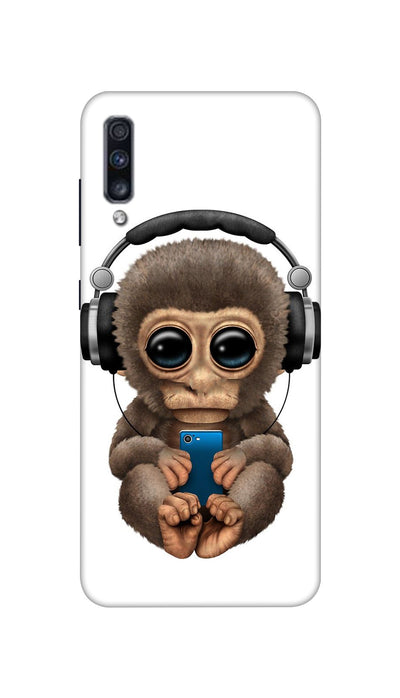 Music lover Monkey Hard Case For Samsung A70S