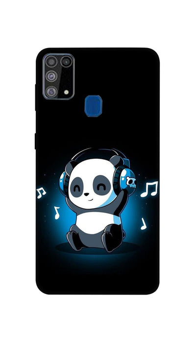 Music lover Panda Hard Case For Samsung M31