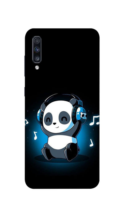 Music lover Panda Hard Case For Samsung A70S