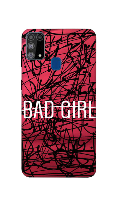 Bad Girl Hard Case For Samsung M31