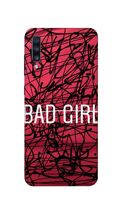 Bad Girl Hard Case For Samsung A70S