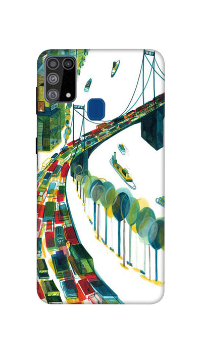 Traffic Hard Case For Samsung M31