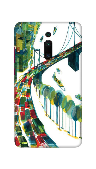 Traffic Hard Case For Mi Redmi K20