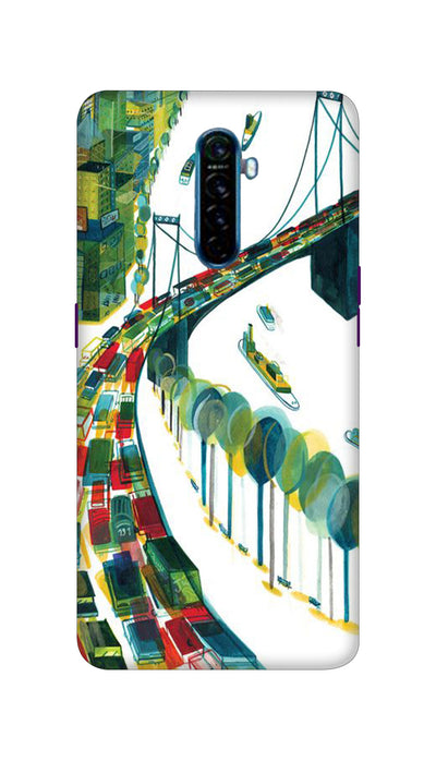 Traffic Hard Case For Oppo Reno Ace