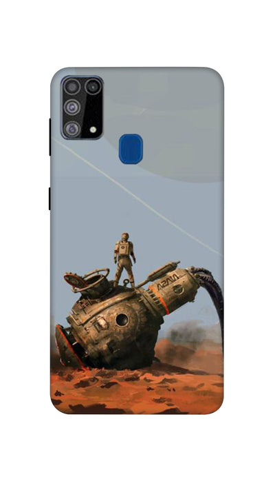 Fighter man  Hard Case For Samsung M31