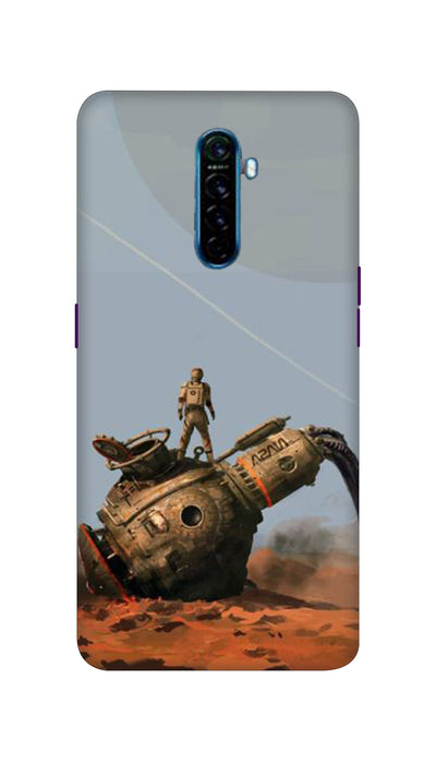 Fighter man  Hard Case For Oppo Reno Ace