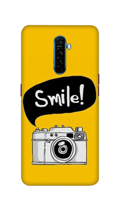 Smile with Camera Hard Case For Oppo Reno Ace