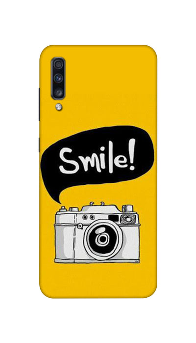 Smile with Camera Hard Case For Samsung A70S