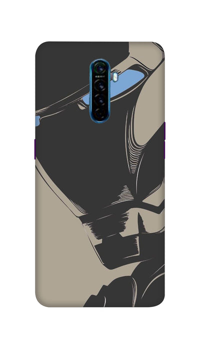 Blackman Hard Case For Oppo Reno Ace