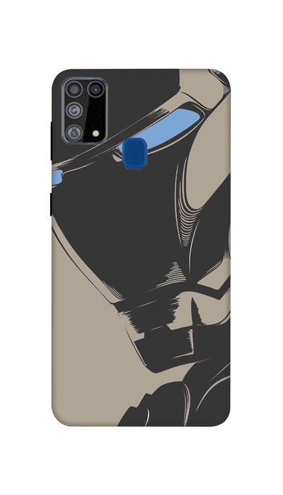 Blackman Hard Case For Samsung M31