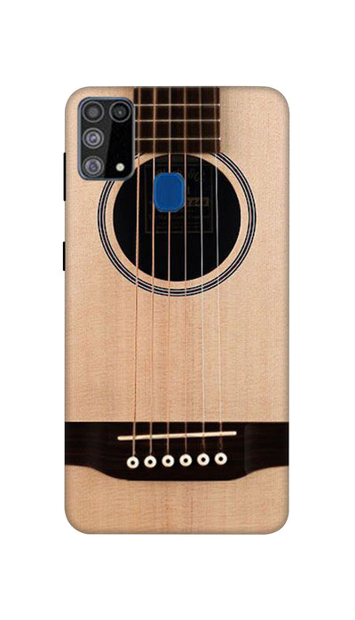 Guitar Strings Hard Case For Samsung M31