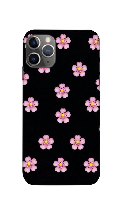 Pink Flower Hard Case For iPhone 11 Pro