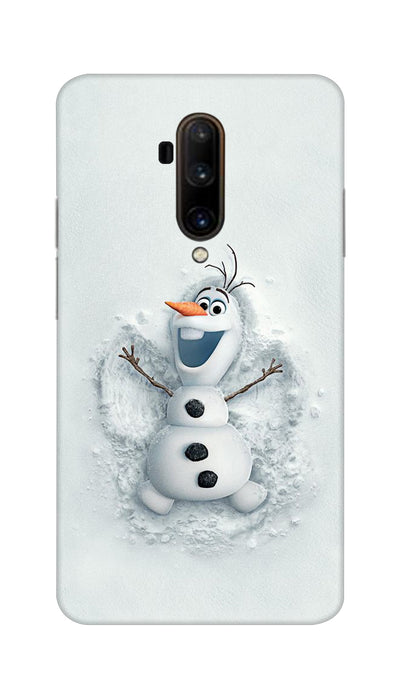 Snowy Cartoon Hard Case For OnePlus 7T Pro