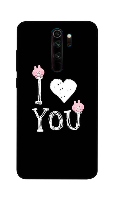 I love you Magical words Hard Case For Mi Redmi Note 8 Pro
