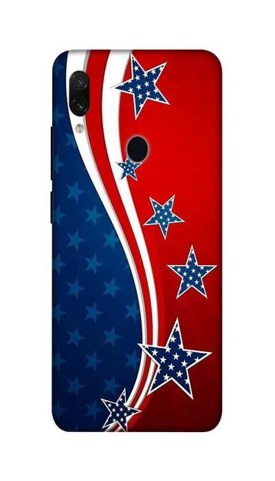 Usa Flag Hard Case For Redmi Note 7 Pro