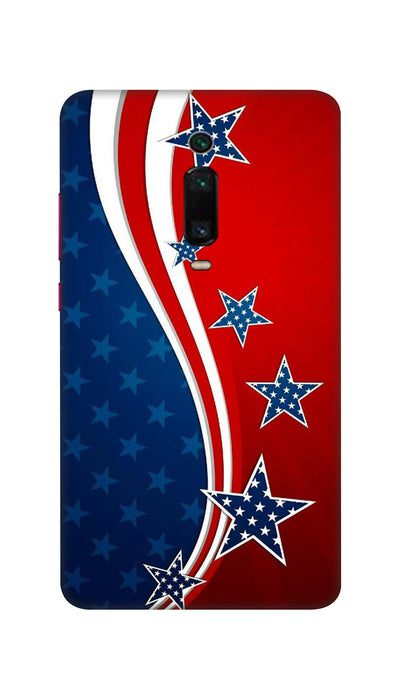 Usa Flag Hard Case For Mi Redmi K20 Pro