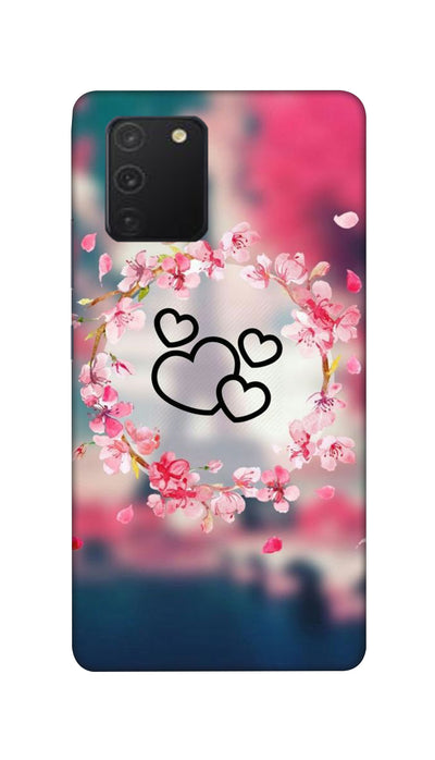 Flowering Hearts Hard Case For Samsung S10 Lite