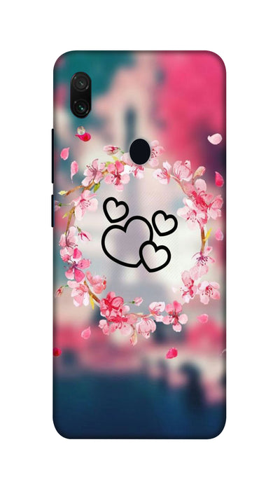Flowering Hearts Hard Case For Redmi Note 7 Pro