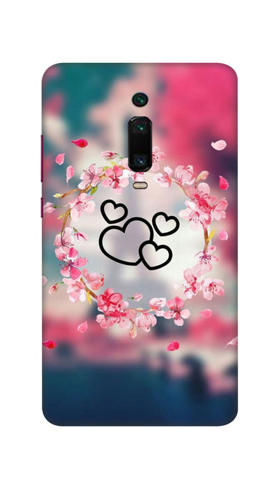 Flowering Hearts Hard Case For Mi Redmi K20 Pro