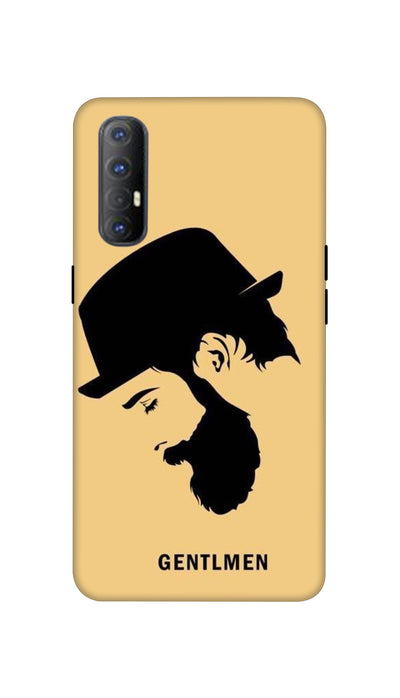 Gentlemen Hard Case For Oppo Reno 3 Pro