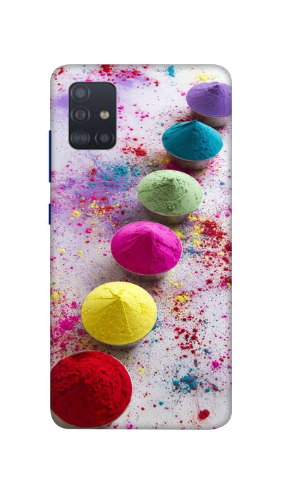 Bright Colours Hard Case For Samsung A51