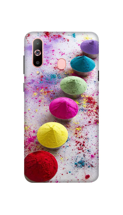 Bright Colours Hard Case For Samsung A60