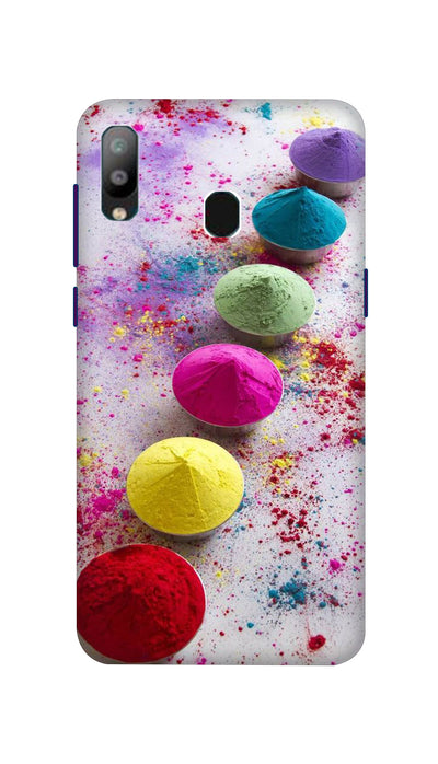 Bright Colours Hard Case For Samsung A40