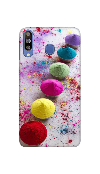 Bright Colours Hard Case For Samsung M40
