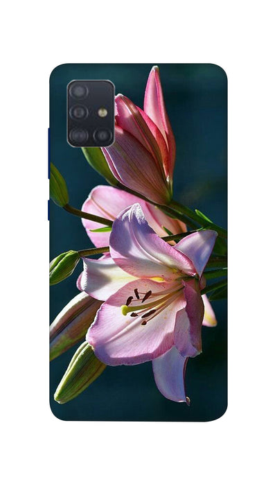 Pink Lily Hard Case For Samsung A51