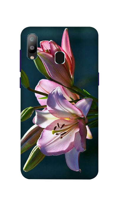 Pink Lily Hard Case For Samsung A40