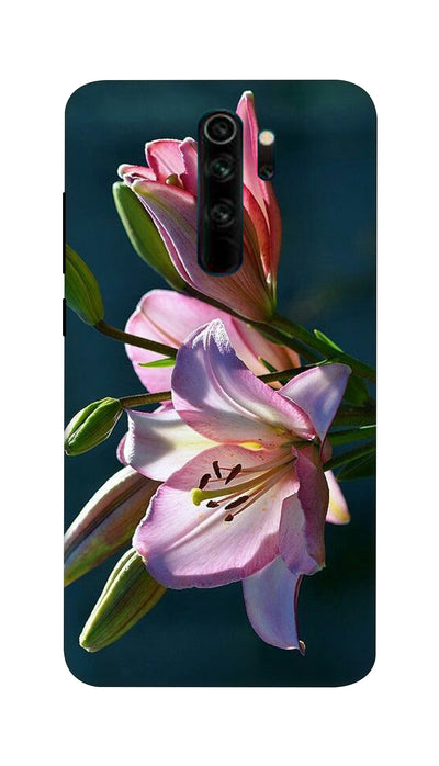 Pink Lily Hard Case For Mi Redmi Note 8 Pro