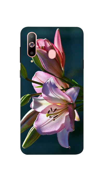 Pink Lily Hard Case For Samsung A60