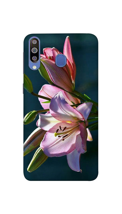 Pink Lily Hard Case For Samsung M40
