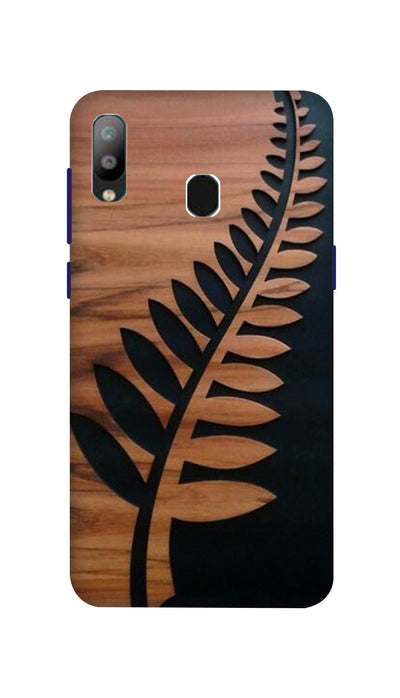 Leaf design Hard Case For Samsung A40