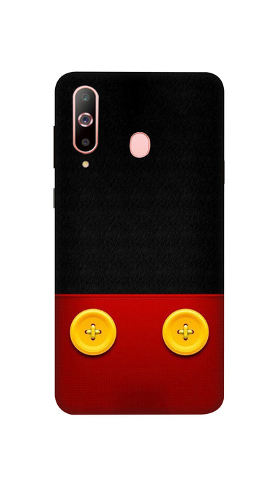 Yellow buttons Hard Case For Samsung A60