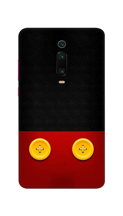 Yellow buttons Hard Case For Mi Redmi K20 Pro