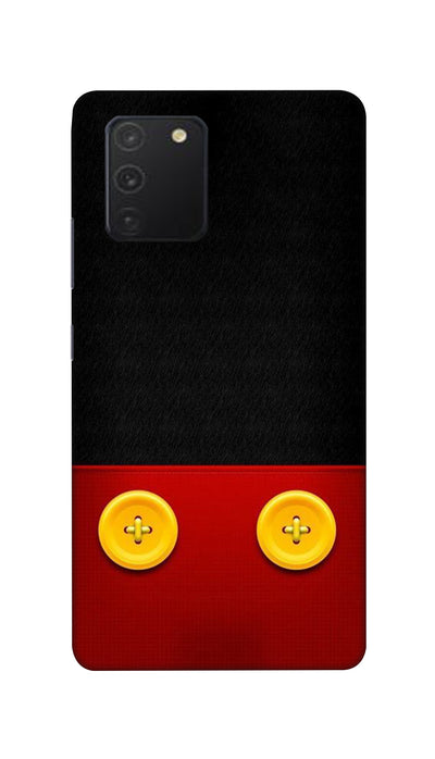 Yellow buttons Hard Case For Samsung S10 Lite
