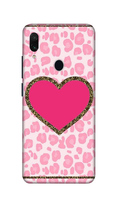 Pink Love Hard Case For Redmi Note 7