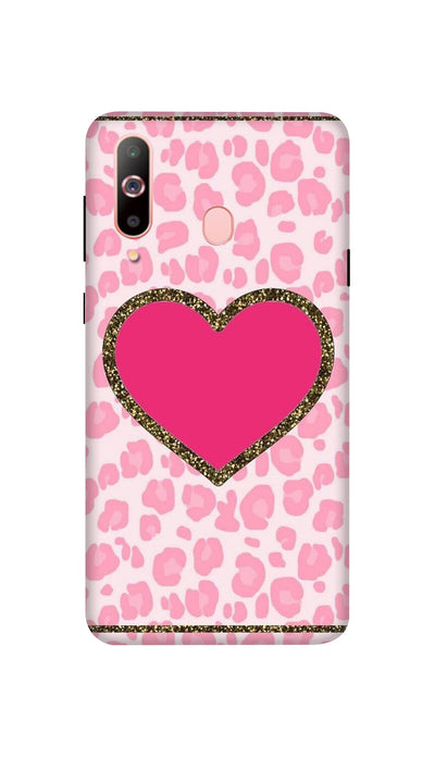 Pink Love Hard Case For Samsung A60