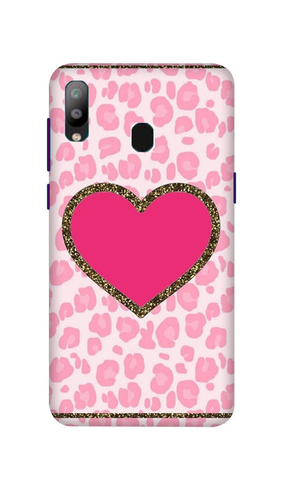 Pink Love Hard Case For Samsung A40