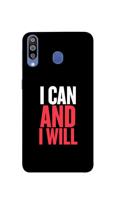 I Can And I Will Hard Case For Samsung M40