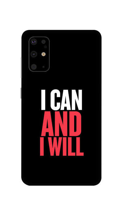 I Can And I Will Hard Case For Samsung S11
