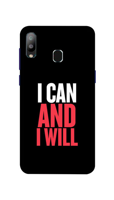 I Can And I Will Hard Case For Samsung A40