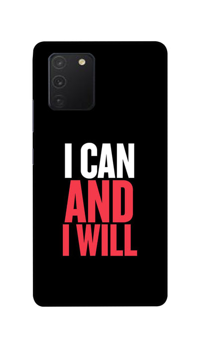 I Can And I Will Hard Case For Samsung S10 Lite