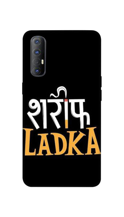 Shareef Ladka Hard Case For Oppo Reno 3 Pro