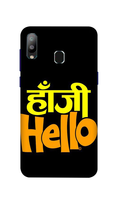 Hanji Hello Hard Case For Samsung A40