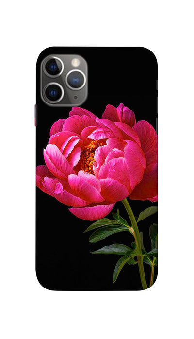 Red Flower Hard Case For Apple iPhone 11 Pro