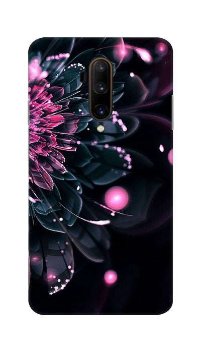 Half Flower Hard Case For OnePlus 7T Pro