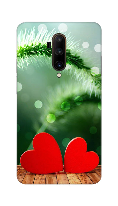 Two love heartz Hard Case For OnePlus 7T Pro