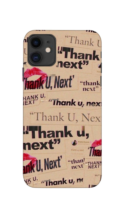 Thank you, Next  Hard Case For Apple iPhone 11